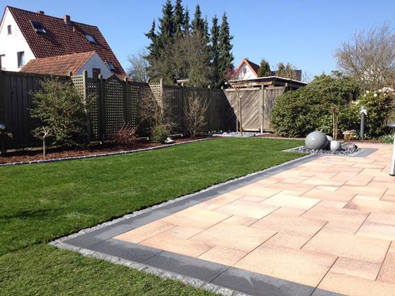 Wasserspiel Terrasse robin sudhoff - garten & landschaftsbau - terrasse mit wasserspiel